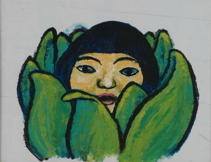 田岛征三 摘自《款冬姑娘》(偕成社)1973年