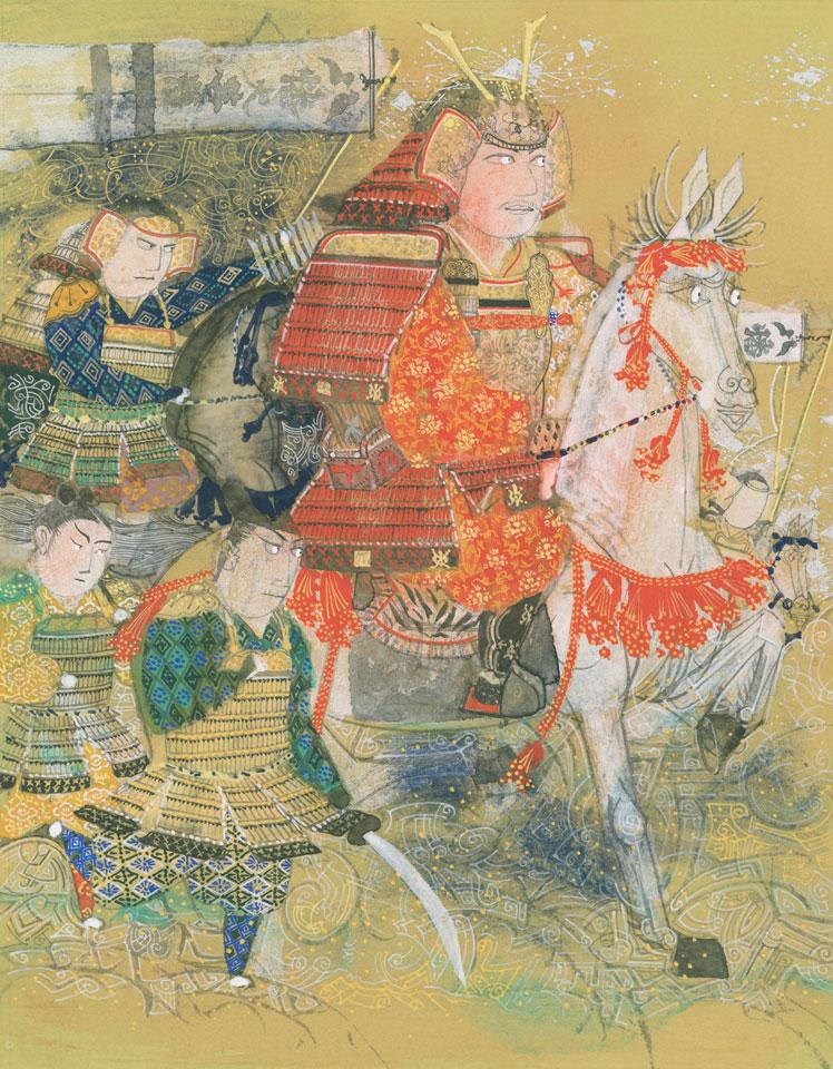 濑川康男 摘自《绘卷平家物语(三)文觉》(HOLP出版)1986年(个人藏)