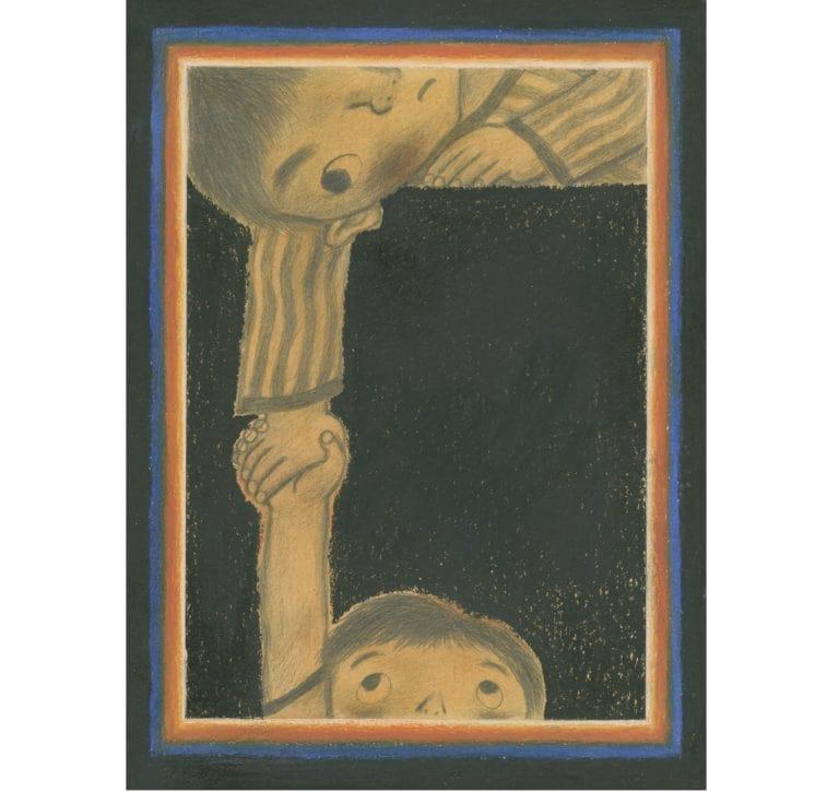田畑精一《壁橱里的冒险》(童心社)封面 1974年