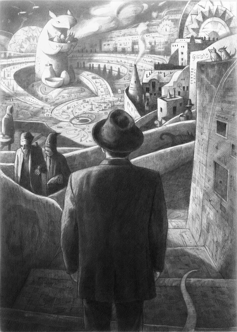 Shaun Tan, from The Arrival, 2004 – 2006