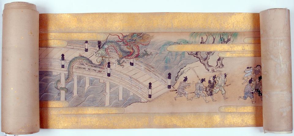 Picture Scroll: Tawaraya Tota Monogatari (The Story of Tawara Tota), Early Edo Period