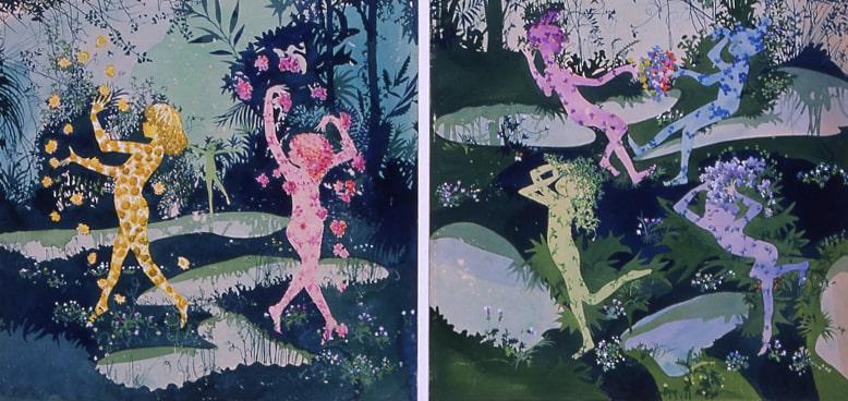 "Shigeru Hatsuyama, ""Delivery of Spring"", 1962"