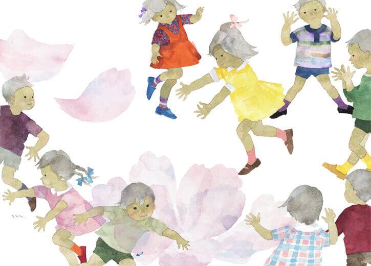 이와사키 치히로 「올해의 모란(일본 전통동요)」