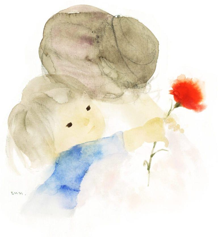 이와사키 치히로 「어머니의 날」 1972년