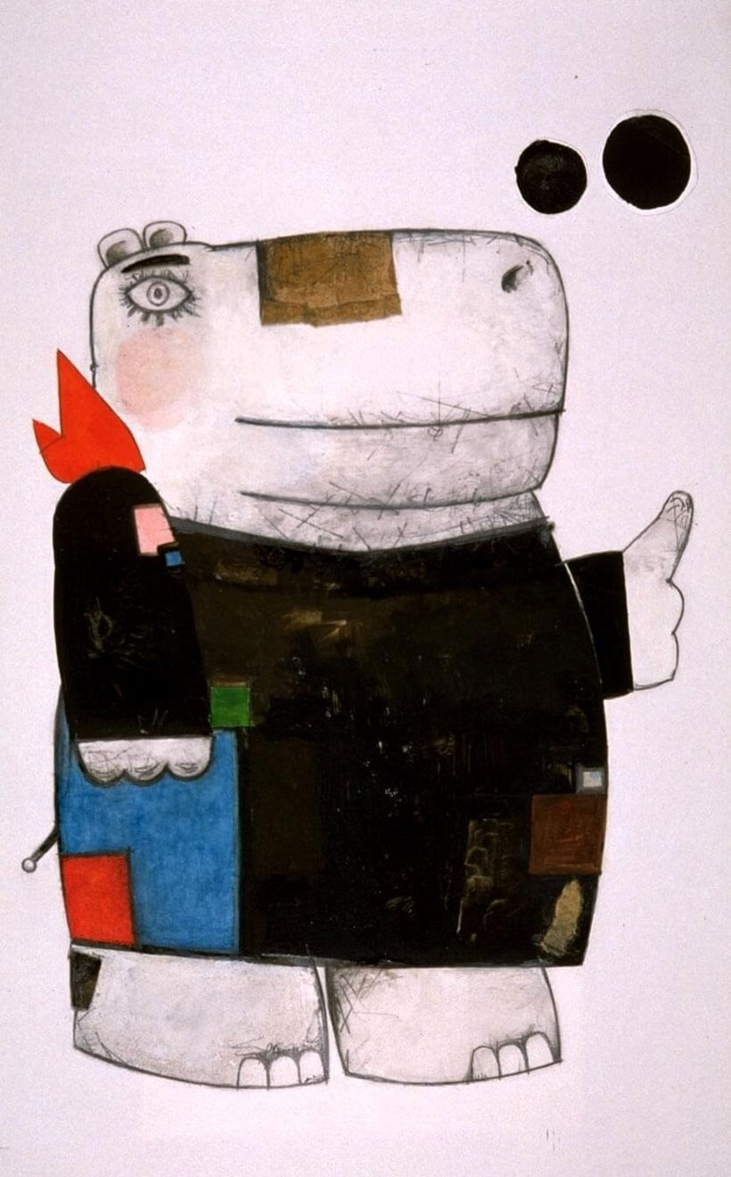 Квета Пацовска. «Бегемот», 1990 год