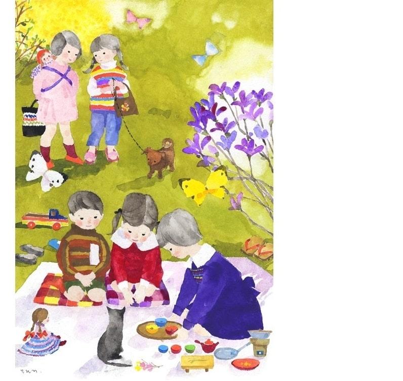 Тихиро Ивасаки. «Дочки-матери», 1959 год