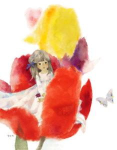 花のなかのおやゆび姫A5350dpi