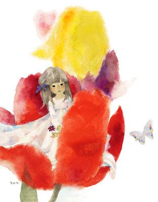 花のなかのおやゆび姫