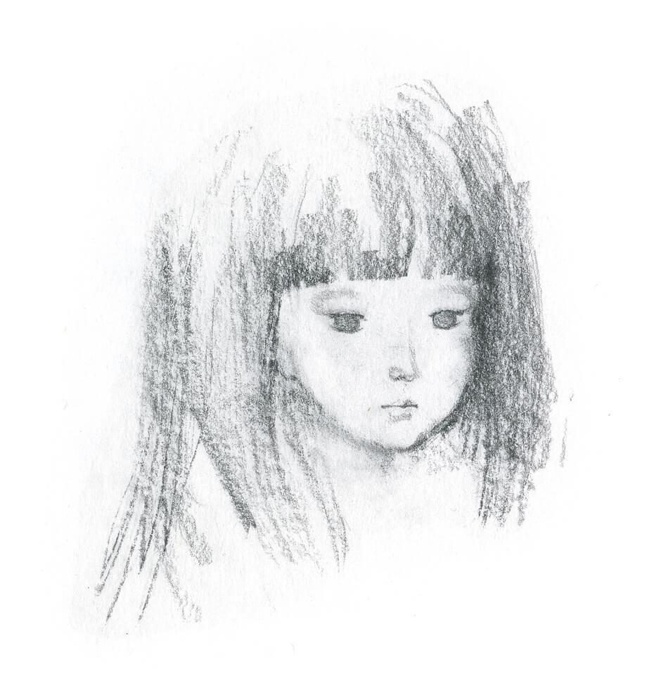人魚の少女