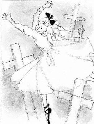 墓場で踊る赤い靴の少女「少年少女文学全集35」