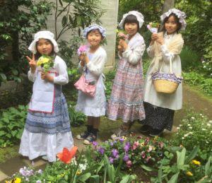 なりきりファッション小学生