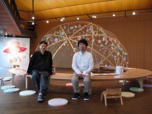 トラフ建築設計事務所の鈴野浩一さんと禿真哉さん