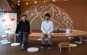 トラフ建築設計事務所の鈴野浩一さん(左)と禿真哉さん(2019年9月8日撮影)