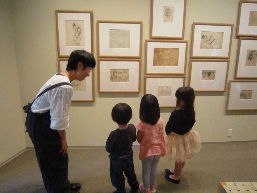 子ども 美術館 展覧会 絵本 親子
