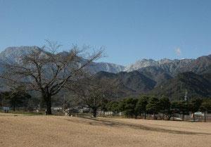 山と安曇野ちひろ公園