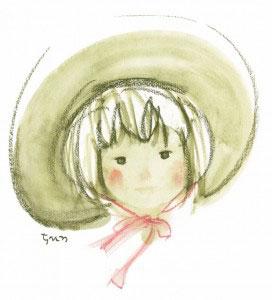 つば広帽子の少女A7350dpi (581x640)