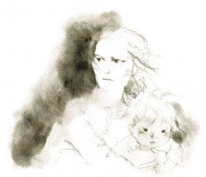 焔のなかの母と子A5350dpi