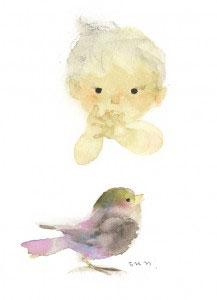 小鳥とあかちゃんA7350dpi
